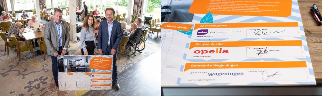 Ondertekening intentieovereenkomst Transformatieplan Nudehof